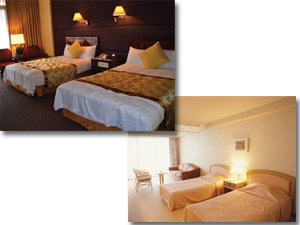 ホテルや旅館などの客室の空気清浄に!