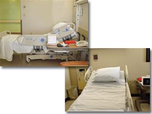 病室の除菌、消臭に!